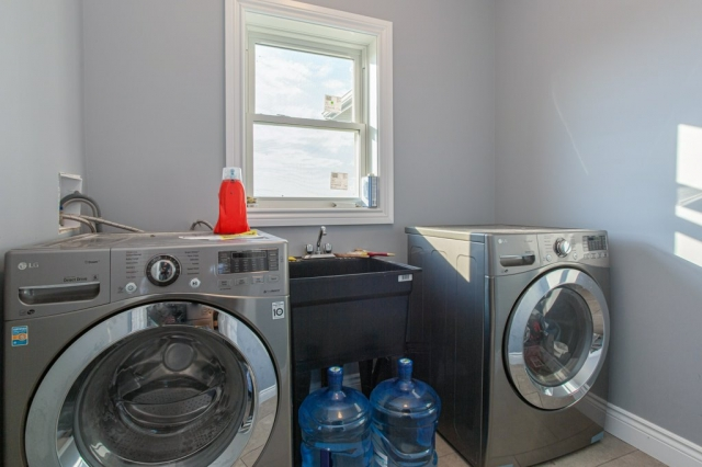 laundry (appliances included) main floor
